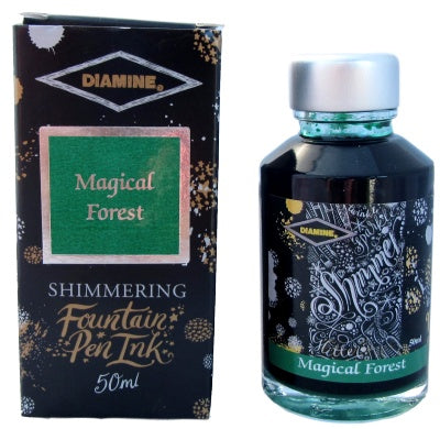 Diamine Magical Forest Shimmer Fountain Pen Ink -50ml