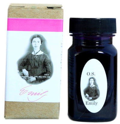 Organics Studio Emily Dickinson Posie Pink Fountain Pen Ink -55ml