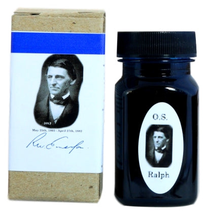 Organics Studio Ralph Waldo Emerson Twilight Blue Fountain Pen Ink -55ml