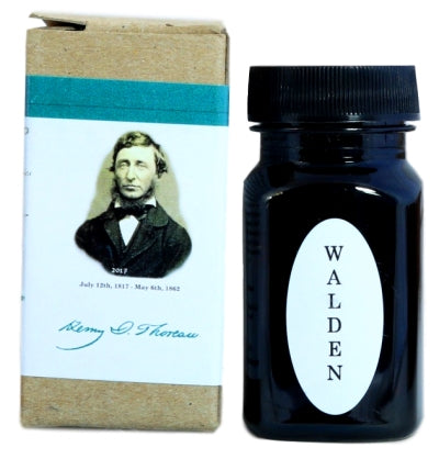 Organics Studio Henry David Thoreau Walden Pond Blue Fountain Pen Ink -55ml