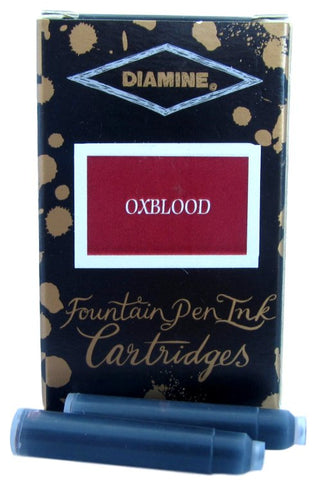 Diamine Oxblood Fountain Pen Ink Cartridges