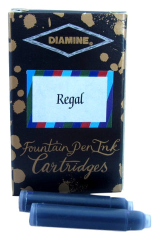 Diamine Regal Fountain Pen Ink Cartridge Set