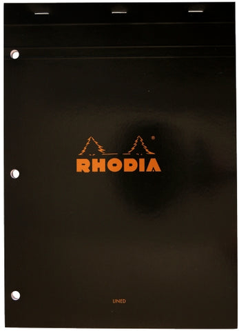 "Rhodia 8""x12"" Lined Notepad"