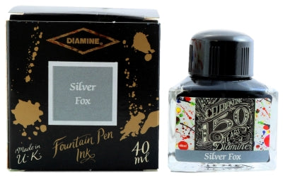 Diamine Silver Fox 150th Anniversary Fountain Pen Ink -40ml