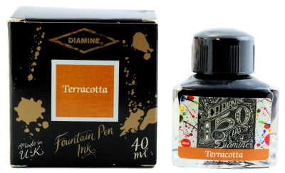 Diamine Terracotta 150th Anniversary Fountain Pen Ink -40ml