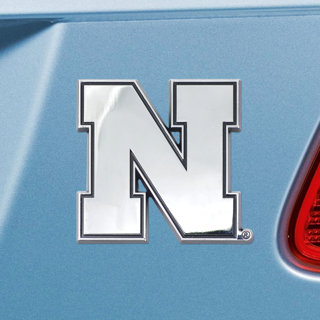University of Nebraska Huskers Emblem - Auto Emblem ~ 3-D Metal