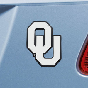 University of Oklahoma Sooners Emblem - Auto Emblem ~ 3-D Metal