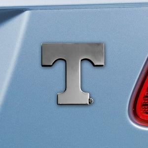 Tennessee University Volunteers Emblem - Auto Emblem ~ 3-D Metal