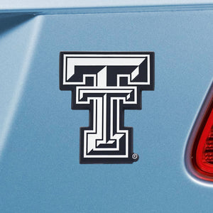 Texas Tech University Emblem - Auto Emblem ~ 3-D Metal