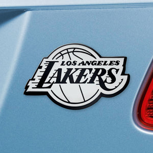 Los Angeles Lakers NBA Emblem - Auto Emblem ~ 3-D Metal