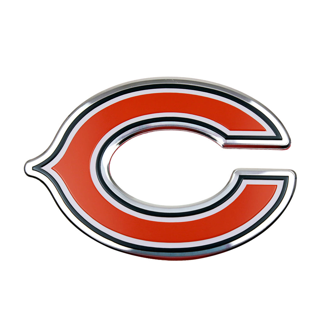 Chicago Bears Embossed Color NFL Emblem