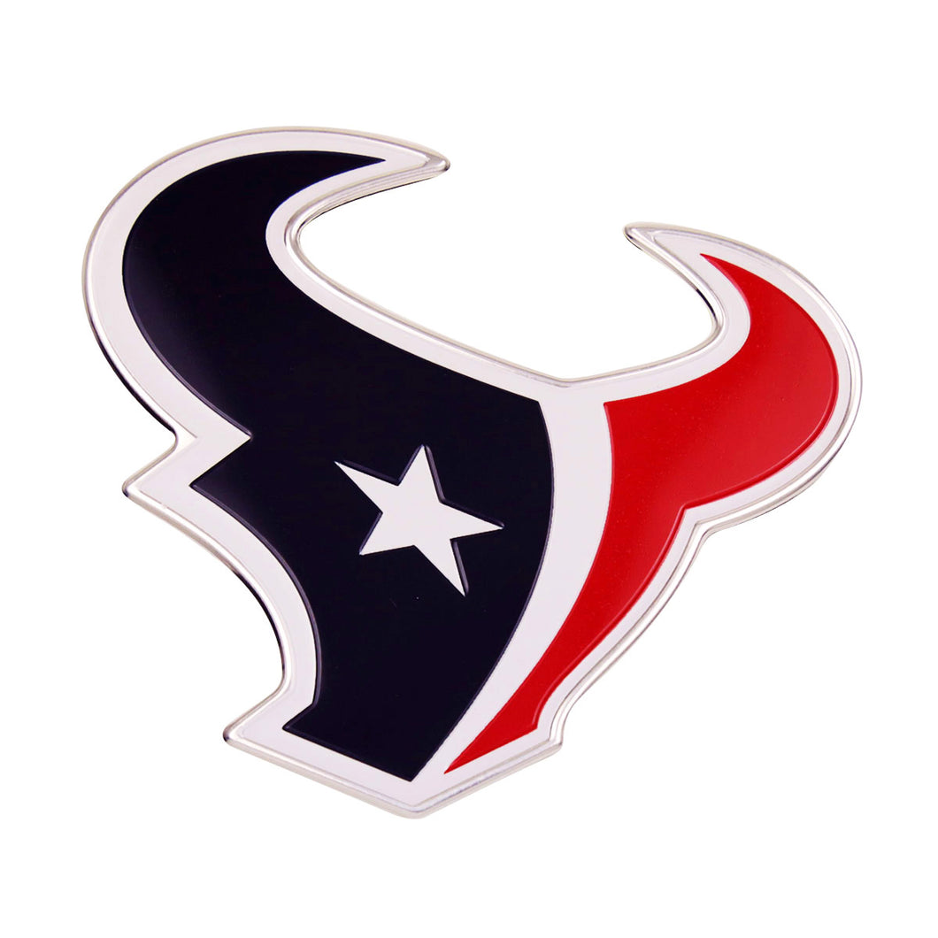 Houston Texans Embossed Color NFL Emblem