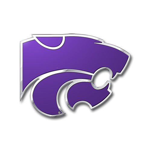 Kansas State University Embossed Color Emblem