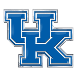 University of Kentucky Embossed Color Emblem