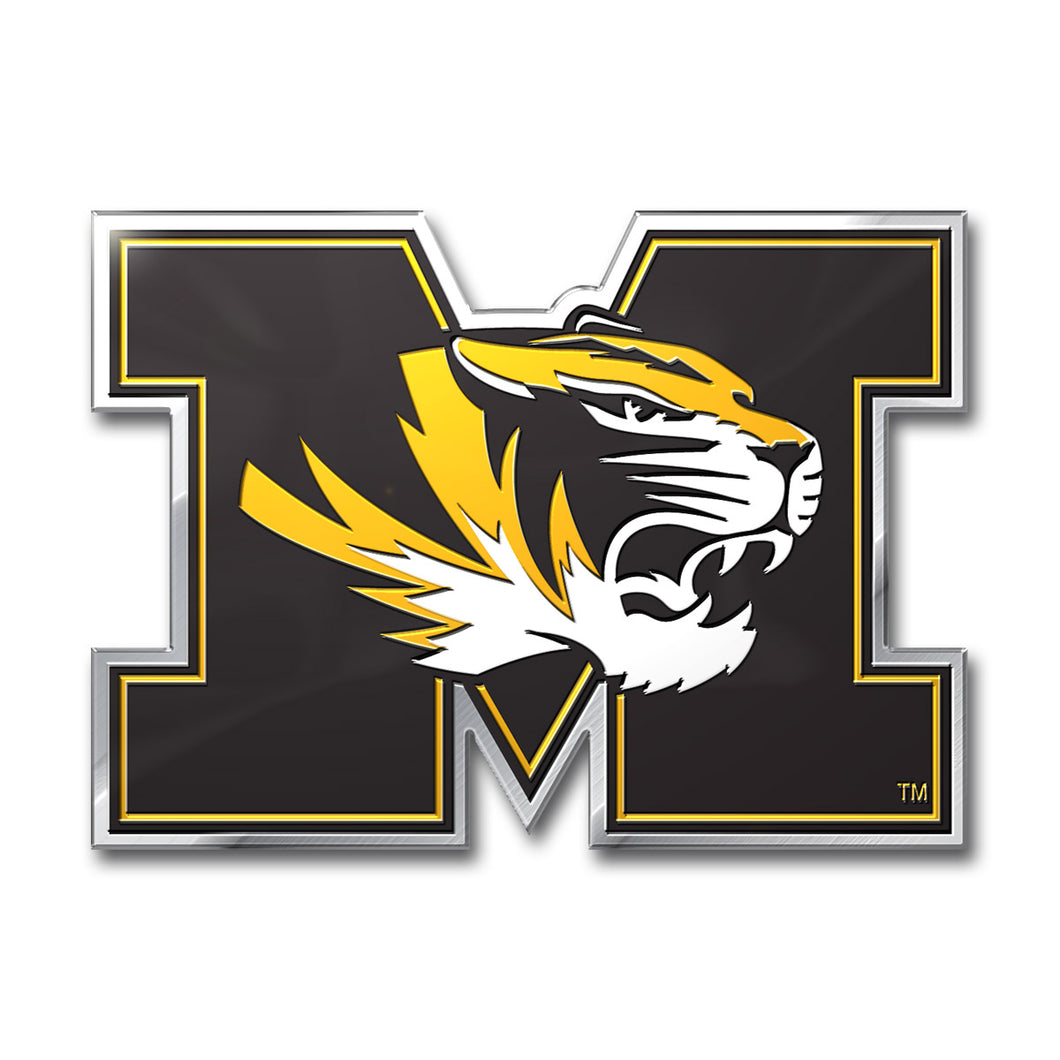 University of Missouri Tigers Embossed Color Emblem