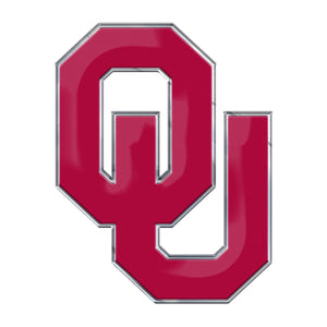 University of Oklahoma Sooners Embossed Color Emblem