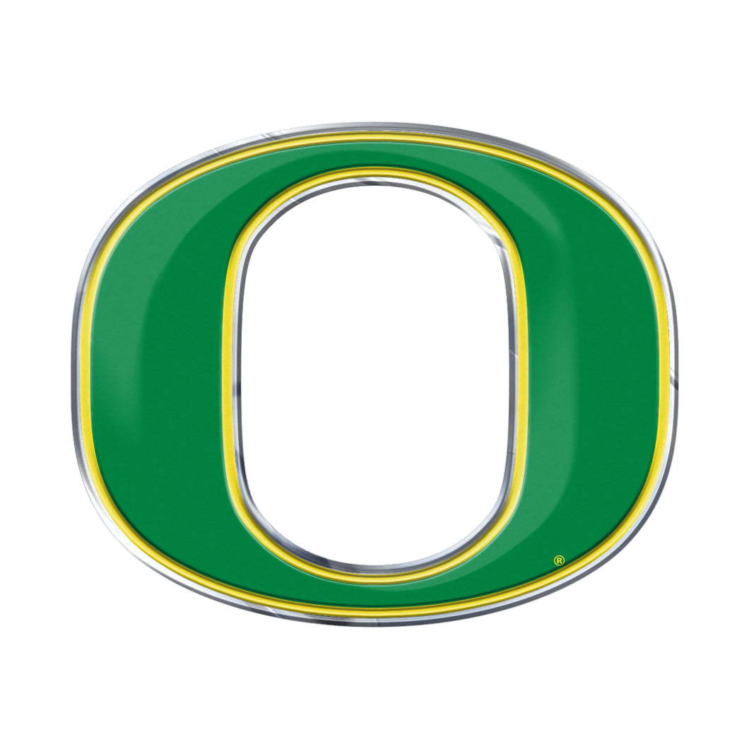 University of Oregon Embossed Color Emblem