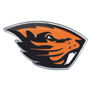Oregon State University Beavers Embossed Color NCAA Emblem