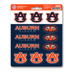 Auburn University Mini Decal 12-pk