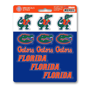 Florida Gators Mini Decal 12-pk