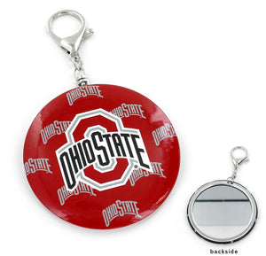 OHIO STATE Buckeyes TEAM COLOR MIRROR KEYCHAIN