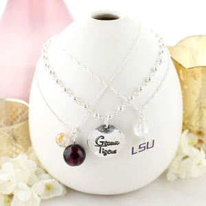 LSU Trio Necklace Set