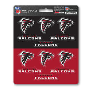 Atlanta Falcons 12pk Mini DecalTeam ProMark
