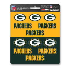 Team ProMark GB Packers 12pk Mini Decal