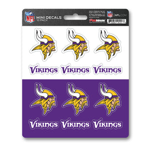 Team ProMark MIN Vikings 12pk Mini Decal