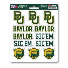 Team ProMark Baylor 12pk Mini Decals