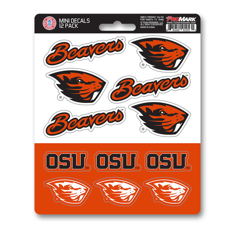 Team ProMark Oregon St 12pk Mini Decal