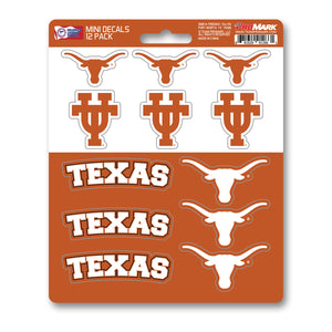 Team ProMark Texas 12pk Mini Decal