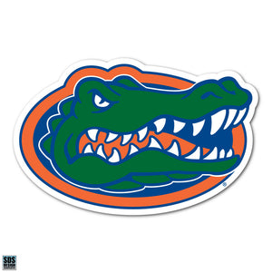 University of Florida UF Gators NCAA Collegiate Logo Super Durable Purse Sticker~ Orange and Blue