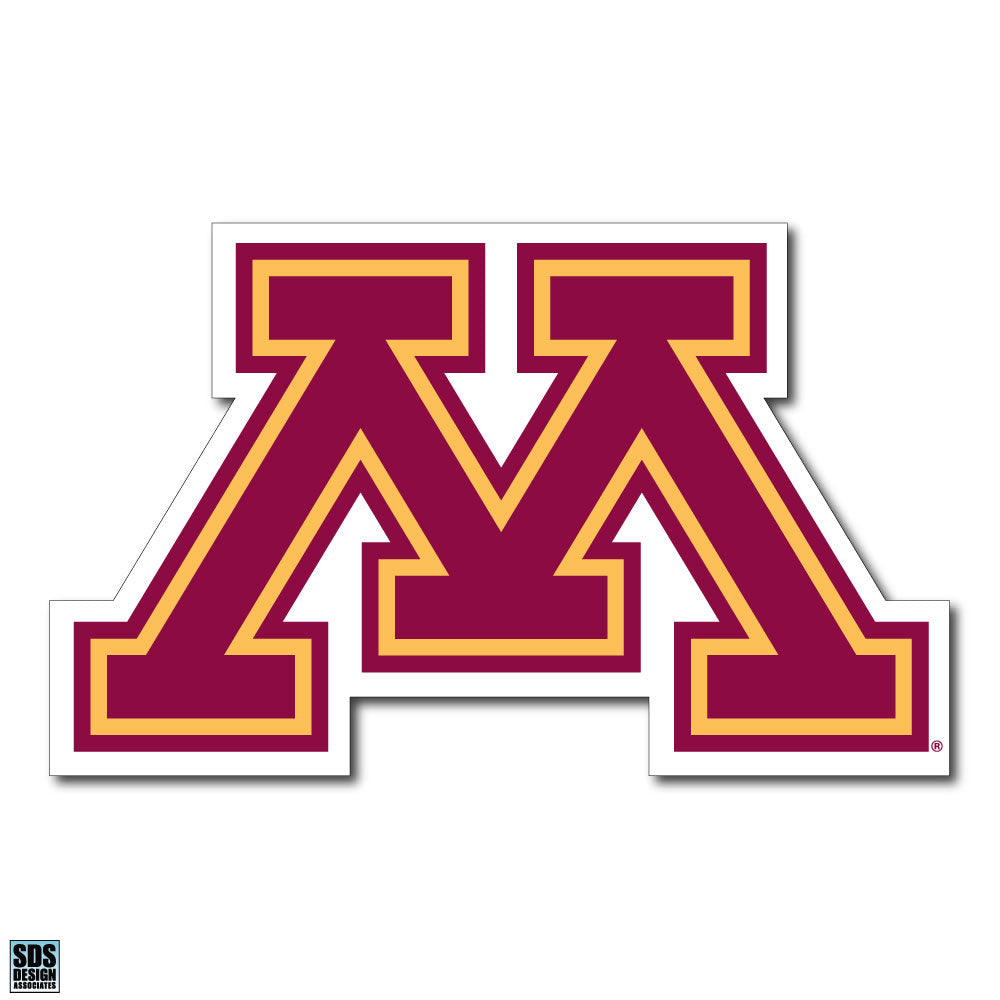 University of Minnesota NCAA Collegiate Logo Super Durable Purse Sticker~ Golden Gophers