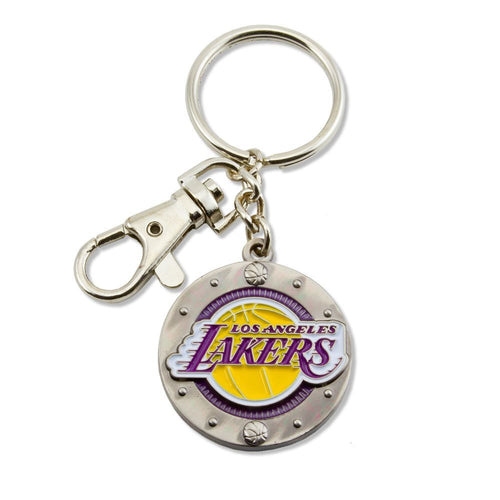 LA LAKERS NBA Logo IMPACT KEYCHAIN