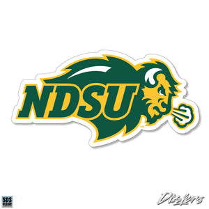 Collegiate Logo Super Durable Purse Sticker-North Dakota State University