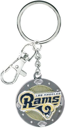 Los Angeles Rams NFL Logo Impact Keychain
