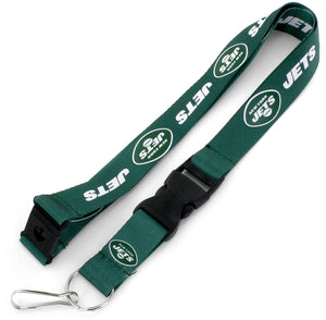New York Jets Officially Licensed Green and White NFL Logo Team Lanyard
