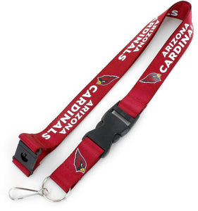 Arizona Cardinals Officially NFL Licensed Logo Team Lanyard