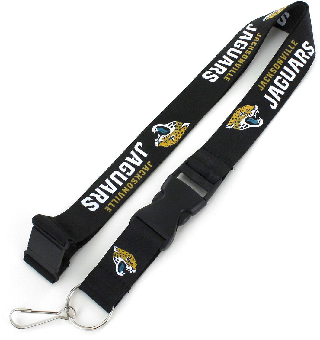Jacksonville Jaguars Officially Licensed Black, Teal and Gold NFL Logo Team Lanyard