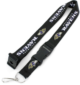 Baltimore Ravens Officially NCAA Licensed Logo Team Lanyard
