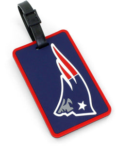 New England Patriots Soft Bag Tag