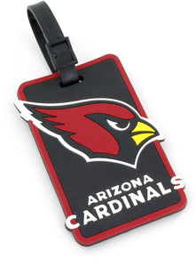 Arizona Cardinals Soft Bag Tag