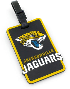 Jacksonville Jaguars Soft Bag Tag