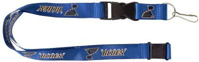 St. Louis BLUES Officially Licensed NHL Logo Blue and Gold Team Lanyard