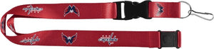 Washington Capitals Officially NHL Licensed Red, White and Blue Logo Team Lanyard
