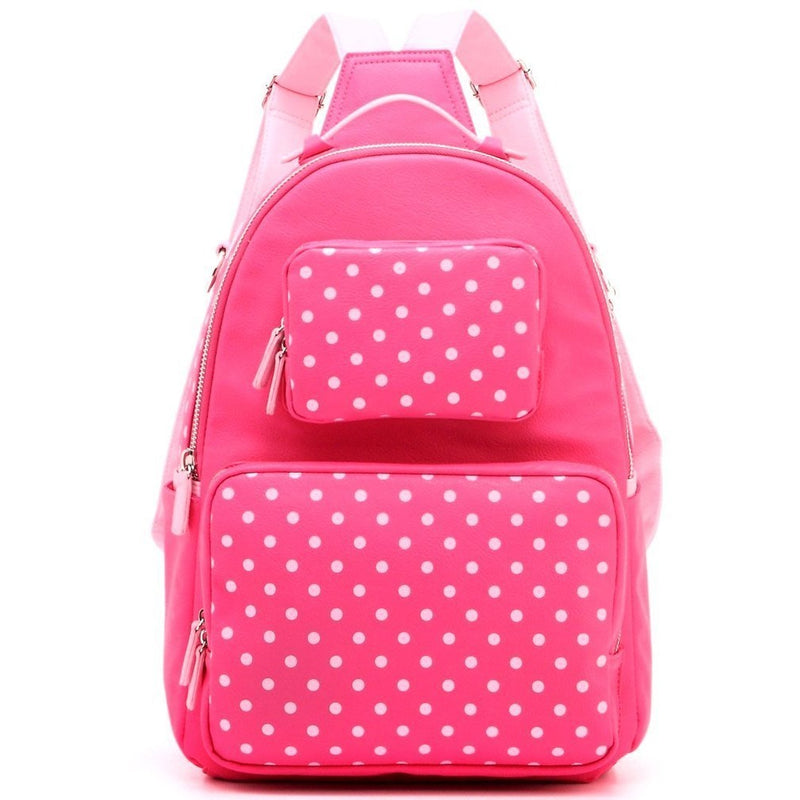 Natalie Michelle Backpack Medium - Fandango Pink and Light Pink