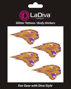 Body, Face and Purse Sticker Tattoos-University of Northern Iowa