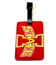 IOWA STATE University Licensed NCAA SOFT Luggage BAG TAG