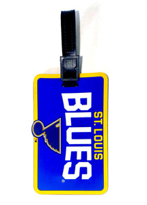 St. Louis BLUES NHL Licensed SOFT Luggage BAG TAG